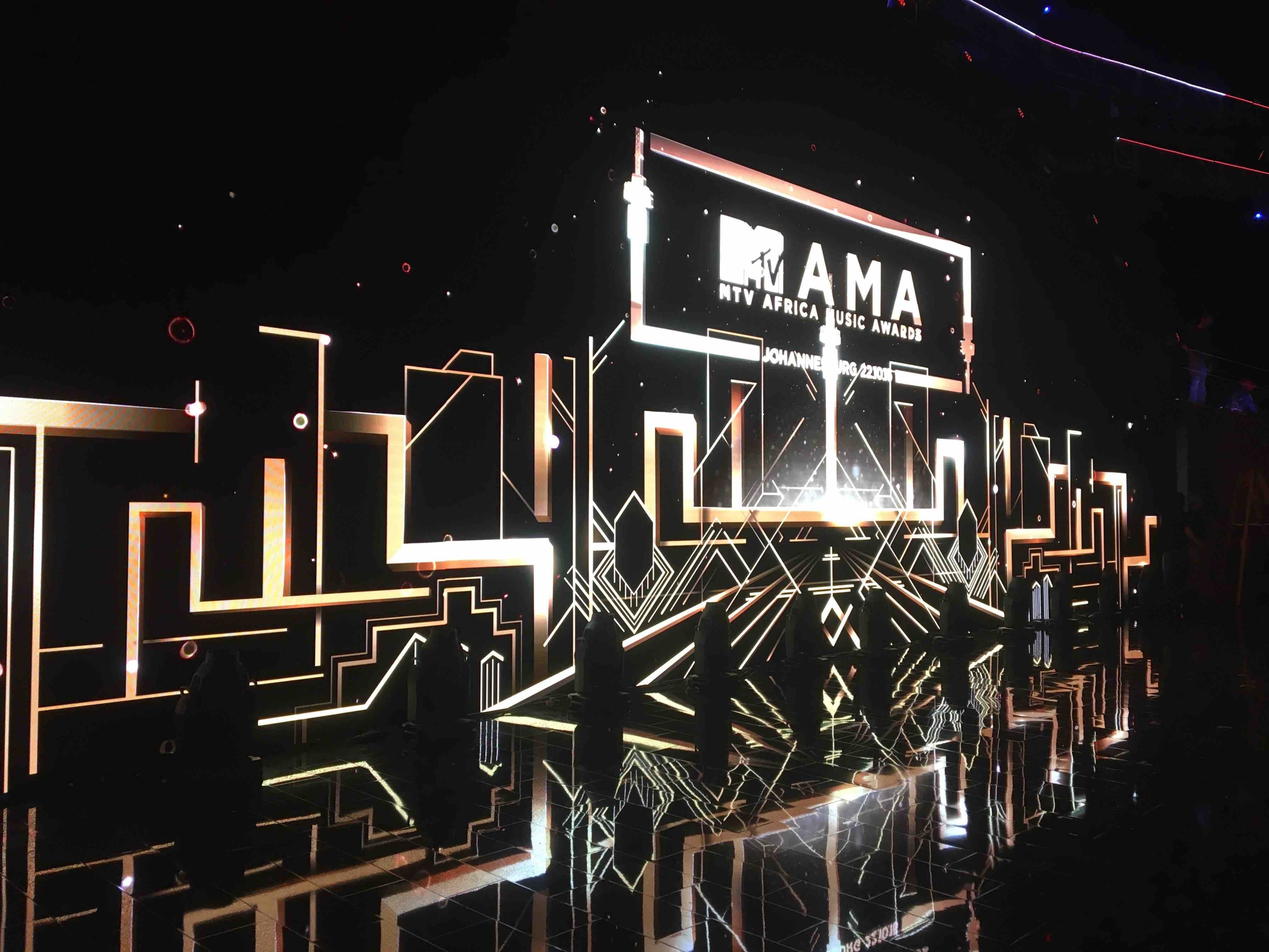 AMA broadcasting Formative bespoke stage and production design